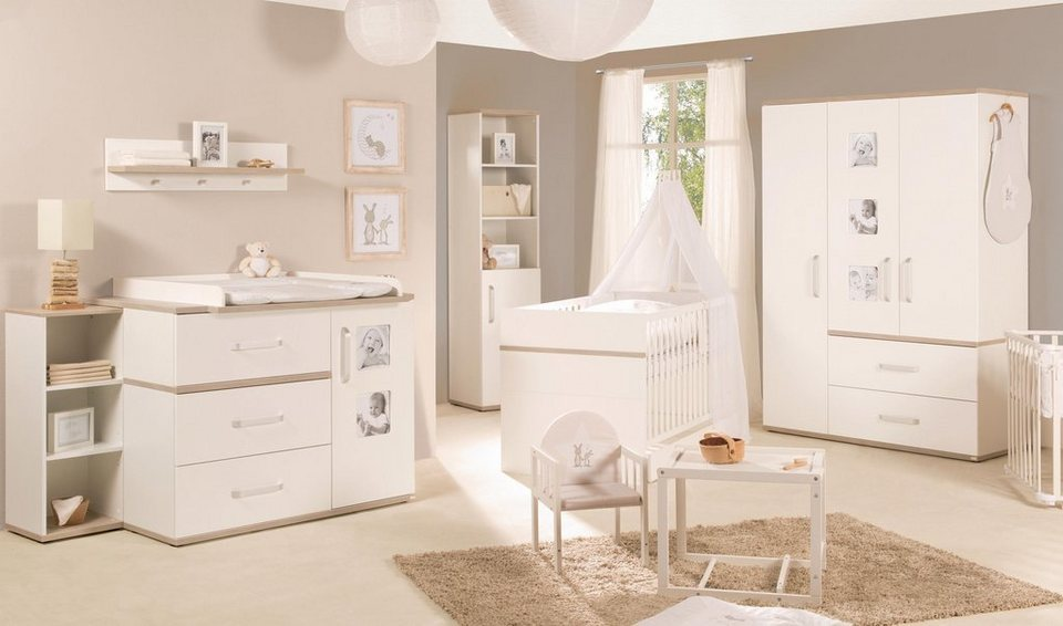 roba babyzimmer set 3 tlg kinderzimmer moritz breit online kaufen otto. Black Bedroom Furniture Sets. Home Design Ideas
