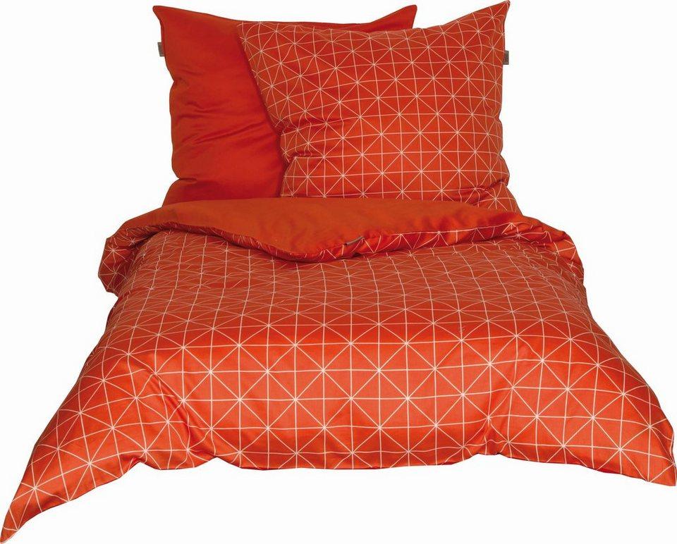 wendebettw sche grid sch ner wohnen kollektion mit. Black Bedroom Furniture Sets. Home Design Ideas
