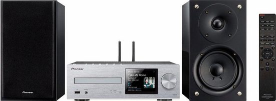 Pioneer »X-HM76D« Kompaktanlage (Internetradio, Digitalradio (DAB), FM-Tuner mit RDS, CD-Player, Bluetooth)