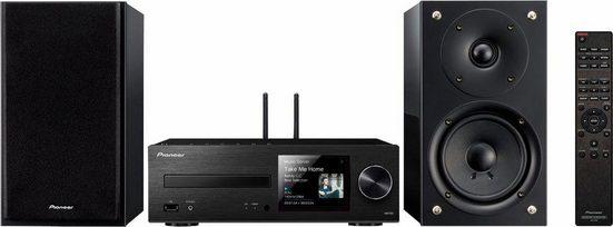 Pioneer »X-HM76D« Kompaktanlage (Internetradio, Digitalradio (DAB), FM-Tuner mit RDS, CD-Player, Bluetooth)