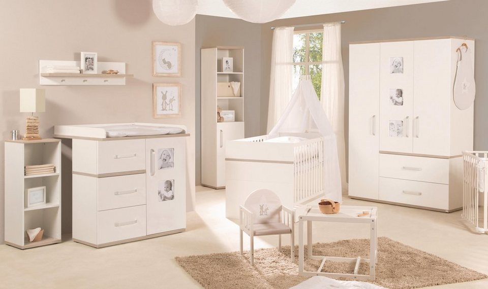 roba babyzimmer set 3 tlg kinderzimmer moritz schmal online kaufen otto. Black Bedroom Furniture Sets. Home Design Ideas