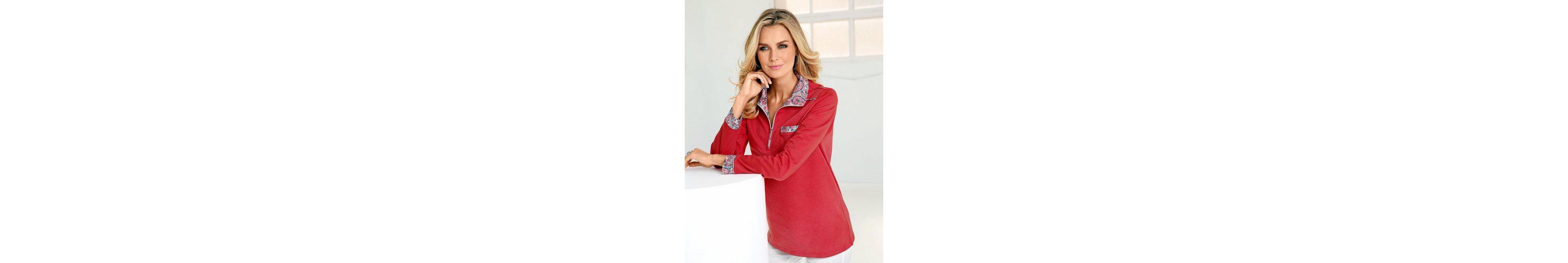Paola Sweatshirt mit Paisleydruck Verkauf 2018 Erhalten Günstig Online Kaufen Verkauf Nicekicks Spielraum 2018 Unisex Freies Verschiffen Visum Zahlung 3wNolOo