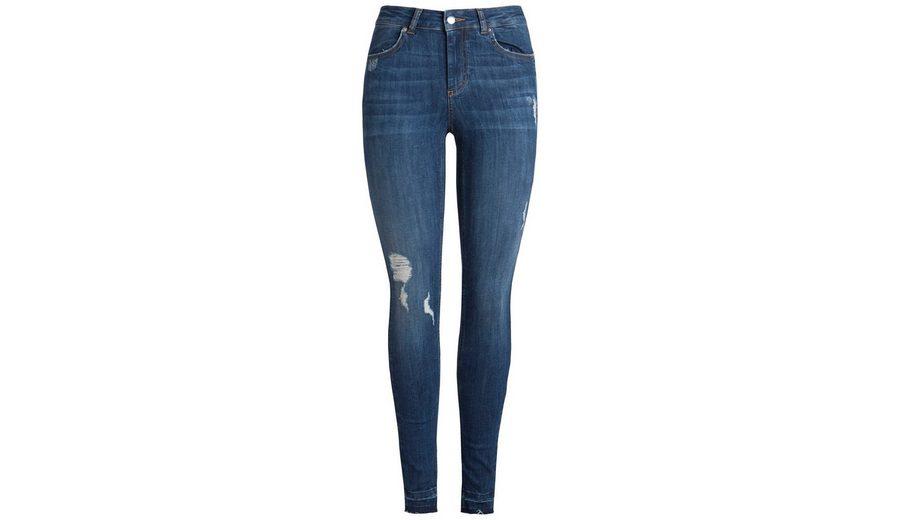 Große Auswahl An Zum Verkauf Spielraum Niedriger Versand Pieces Destroyed Jeans mit Normal Waist Steckdose Zuverlässig Fälschung Dwsaa9