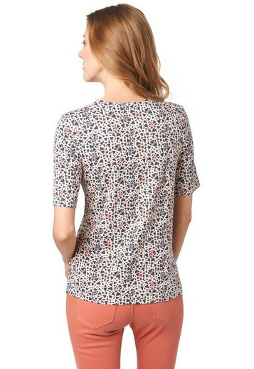 Bonita T-Shirt mit Raffung