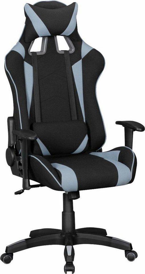 Bürostühle - Amstyle Chefsessel »SCORE«, mit gepolsterten Armlehnen » schwarz  - Onlineshop OTTO