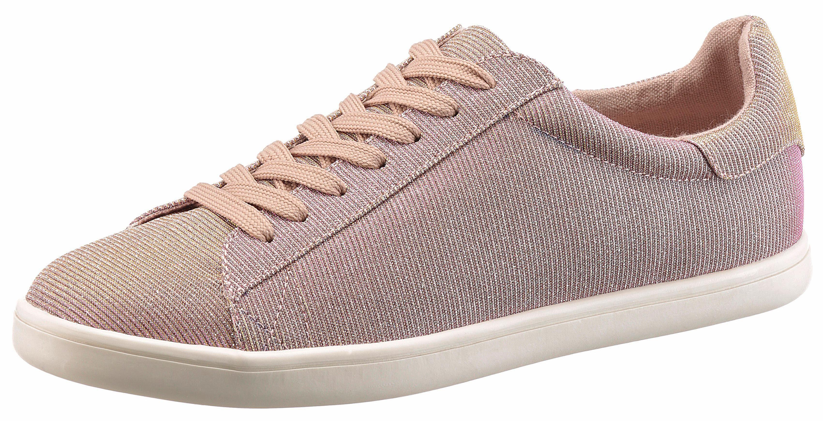 Arizona Sneaker, im Glitzer-Look online kaufen  roségoldfarben