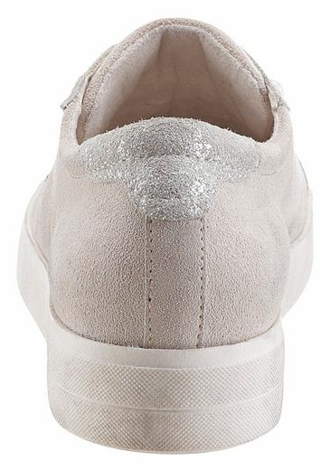 Tamaris Sneaker, mit trendigen Zierperlen