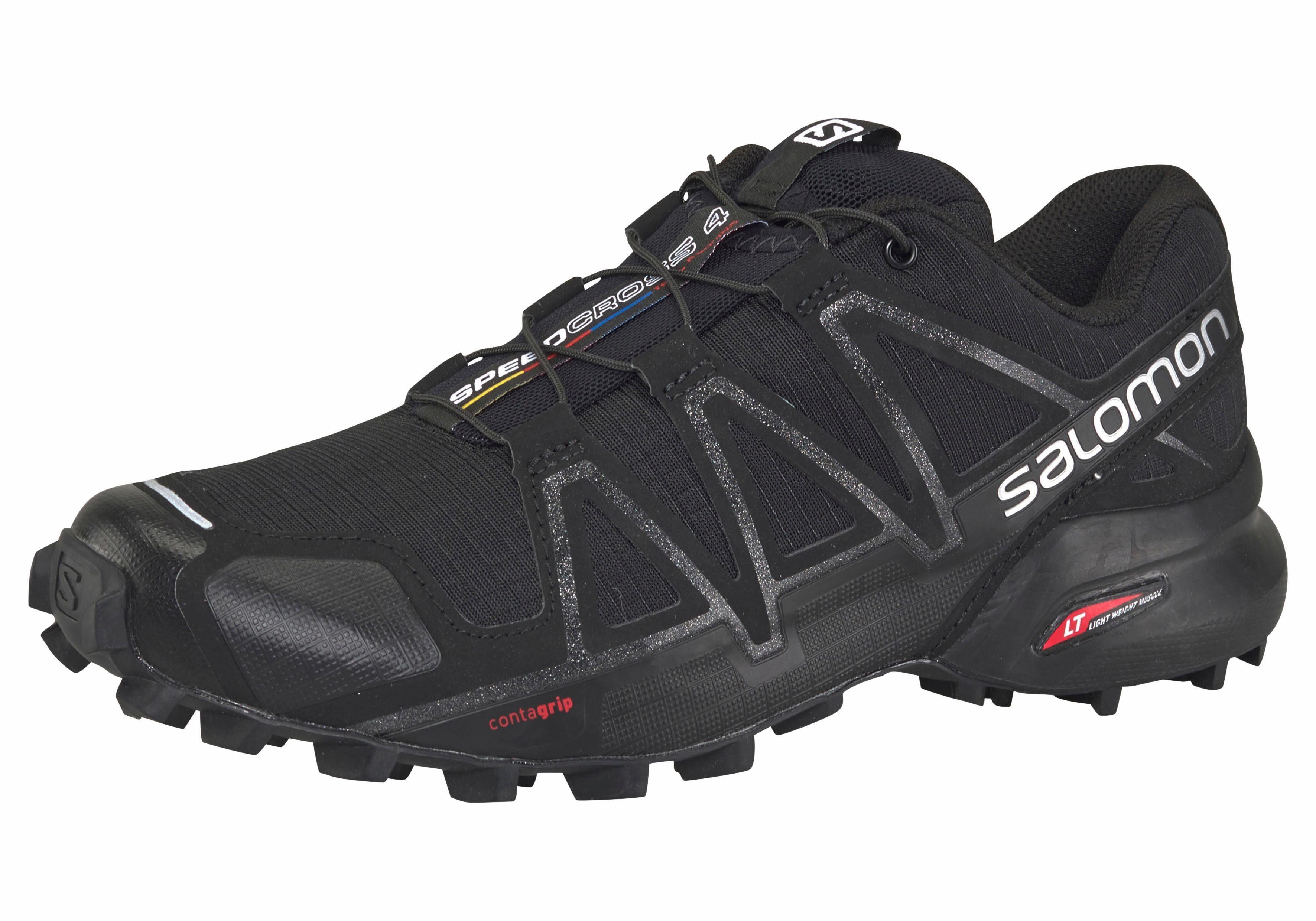 Damen Salomon »Speedcross 4 W« Laufschuh blau, schwarz | 00889645080659