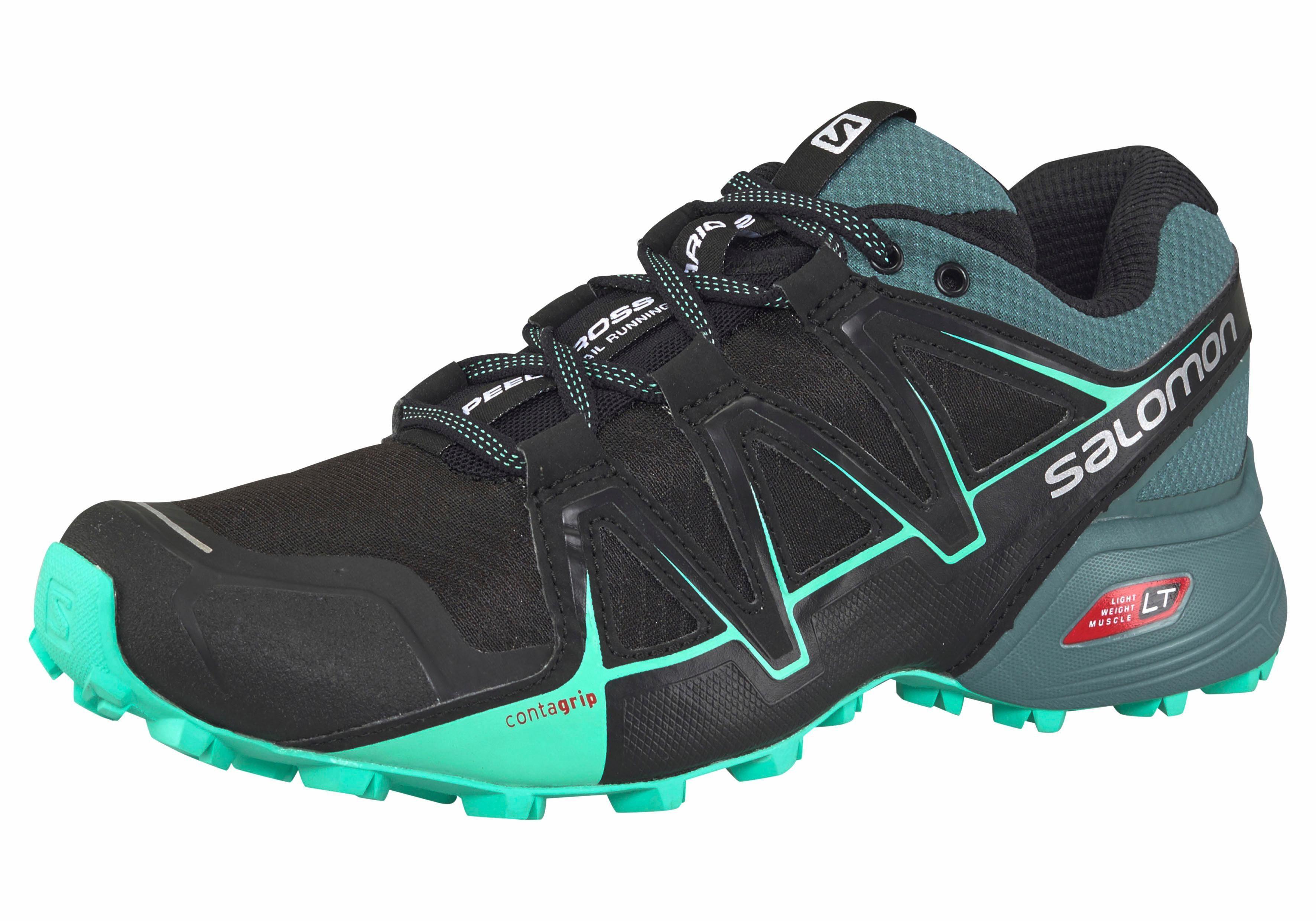 Salomon »Speedcross Vario 2 W« Laufschuh, schwarz, schwarz-mint