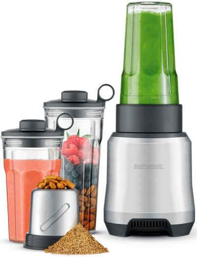 Gastroback Standmixer Design Personal Blender Pro 41039, 1000 W, Smoothie To Go, inklusive Rezeptbuch