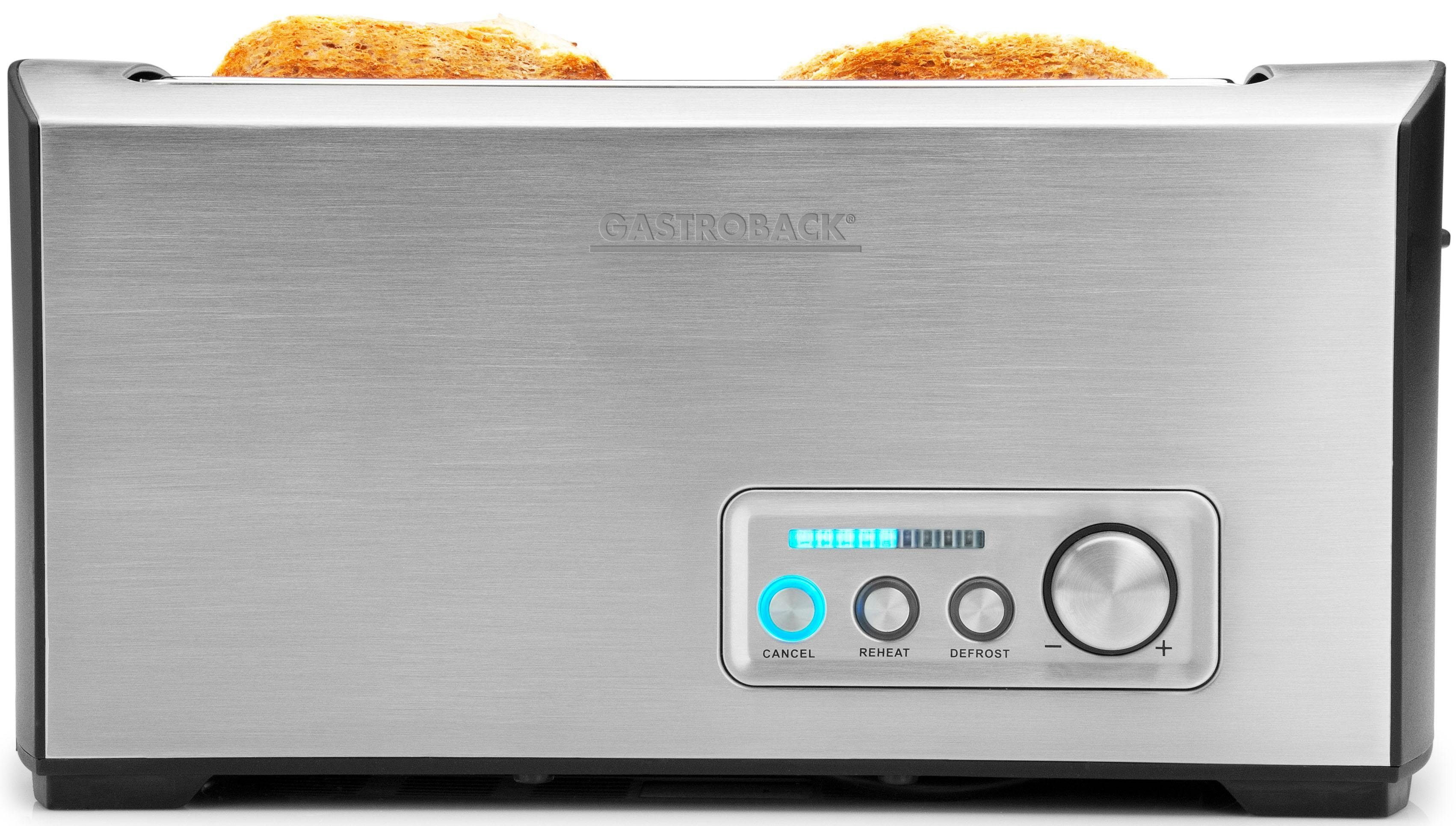 Gastroback Toaster Pro 4S 42398, für 4 Scheiben, 1500 W