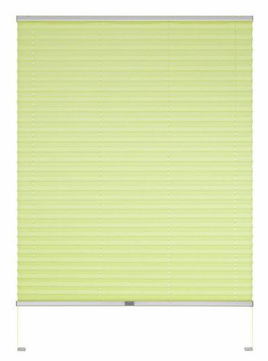 Dachfensterplissee nach Maß »Dena«, Good Life, Lichtschutz, mit Bohren, verspannt, Schienenfarbe in silber