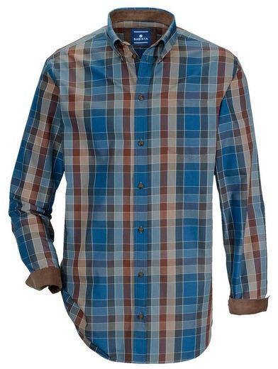 Babista Hemd mit Feincord-Besatz