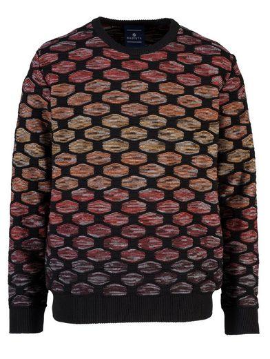 Babista Pullover mit hochwertigem Jacquard-Relief