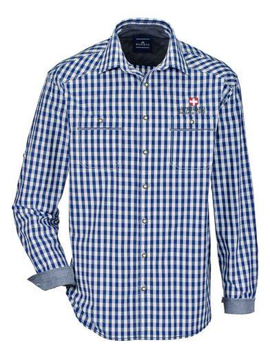 Babista Trachtenhemd mit Krempel-Funktion