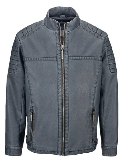 Babista Jacket In Leather Optics