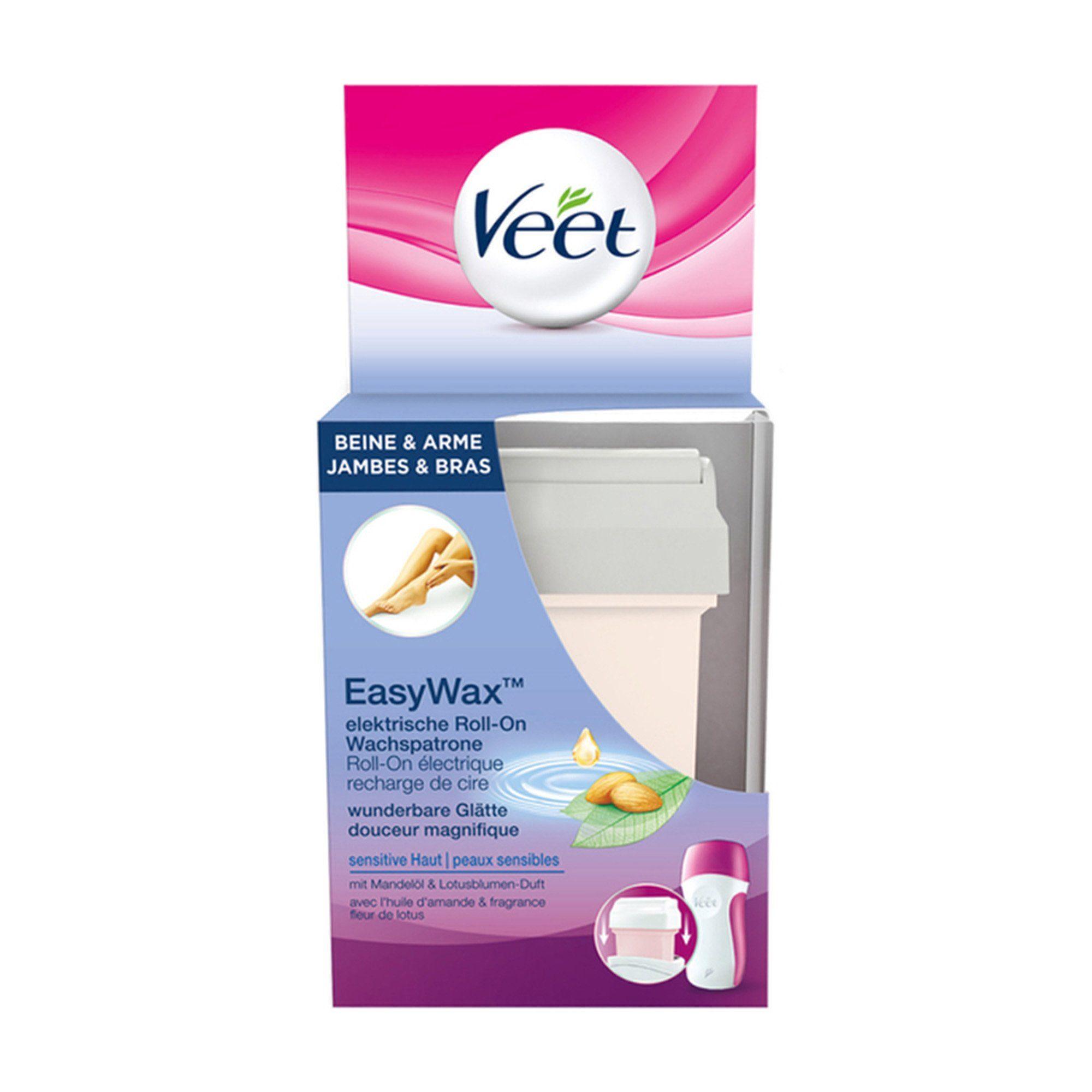 Veet Nachfüllwachspatrone für den EasyWax Haarentferner »EasyWax Roll-On Wachspatrone«