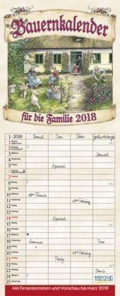 Kalender »Bauernkalender für die Familie 2018«