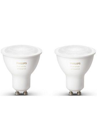 PHILIPS HUE »WHITE AMBIANCE« LED lemputės GU10 Neu...