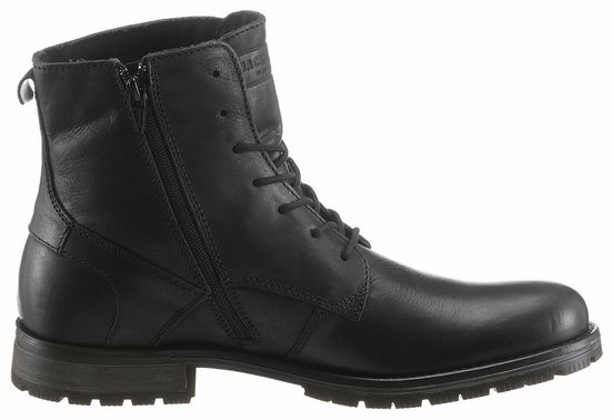 Jack & Jones Orca Ankle Boot, With Additional Interior Zipper