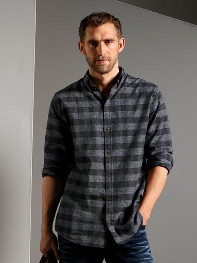 Babista Hemd garngefärbt und bedruckt