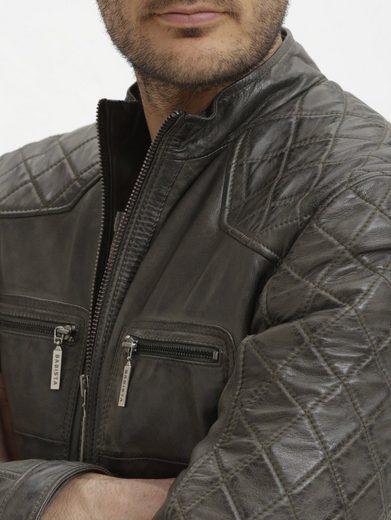 Babista Leather Jacket Made Of Genuine Lamb Nappa