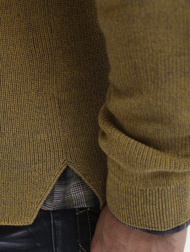 Babista Pullover in zweifarbiger Optik