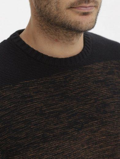 Babista Pullover mit zweifarbigem Streifendessin