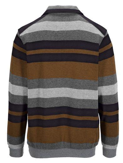 Babista Sweatshirt in zweifarbiger Optik