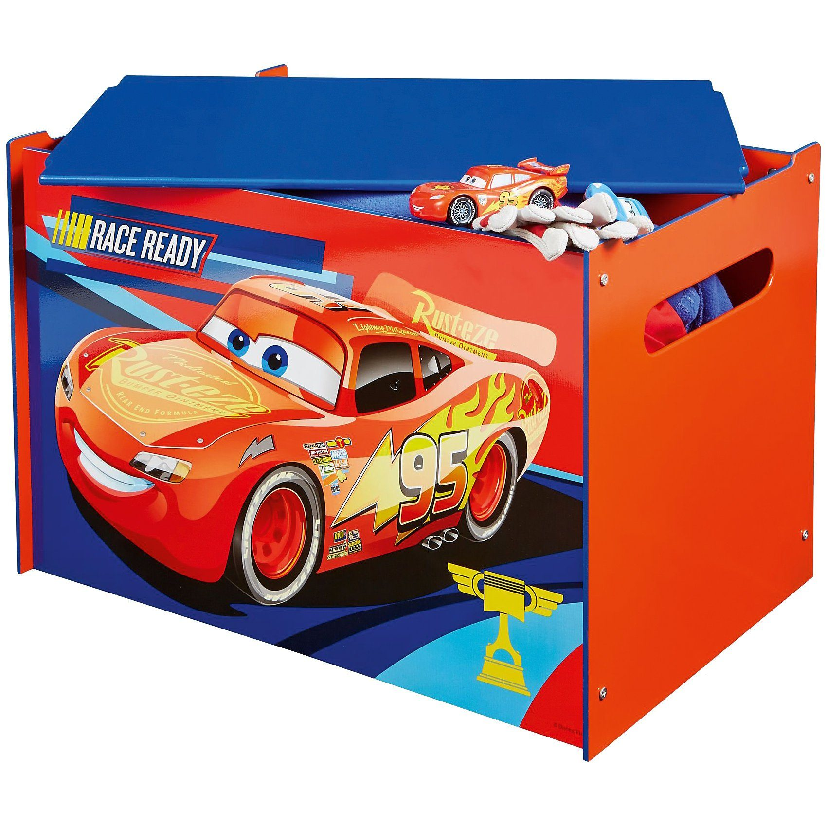 WORLDS APART Spielzeug Truhe, Cars 3
