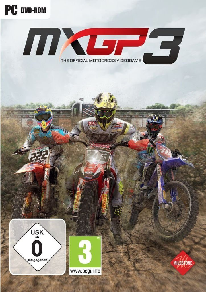 Milestone PC - Spiel »MXGP3 - The Official Motocross Videogame«