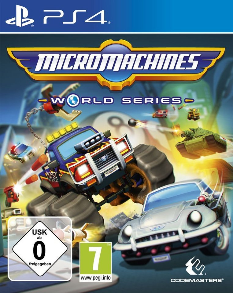 koch media playstation 4 spiel micro machines world. Black Bedroom Furniture Sets. Home Design Ideas