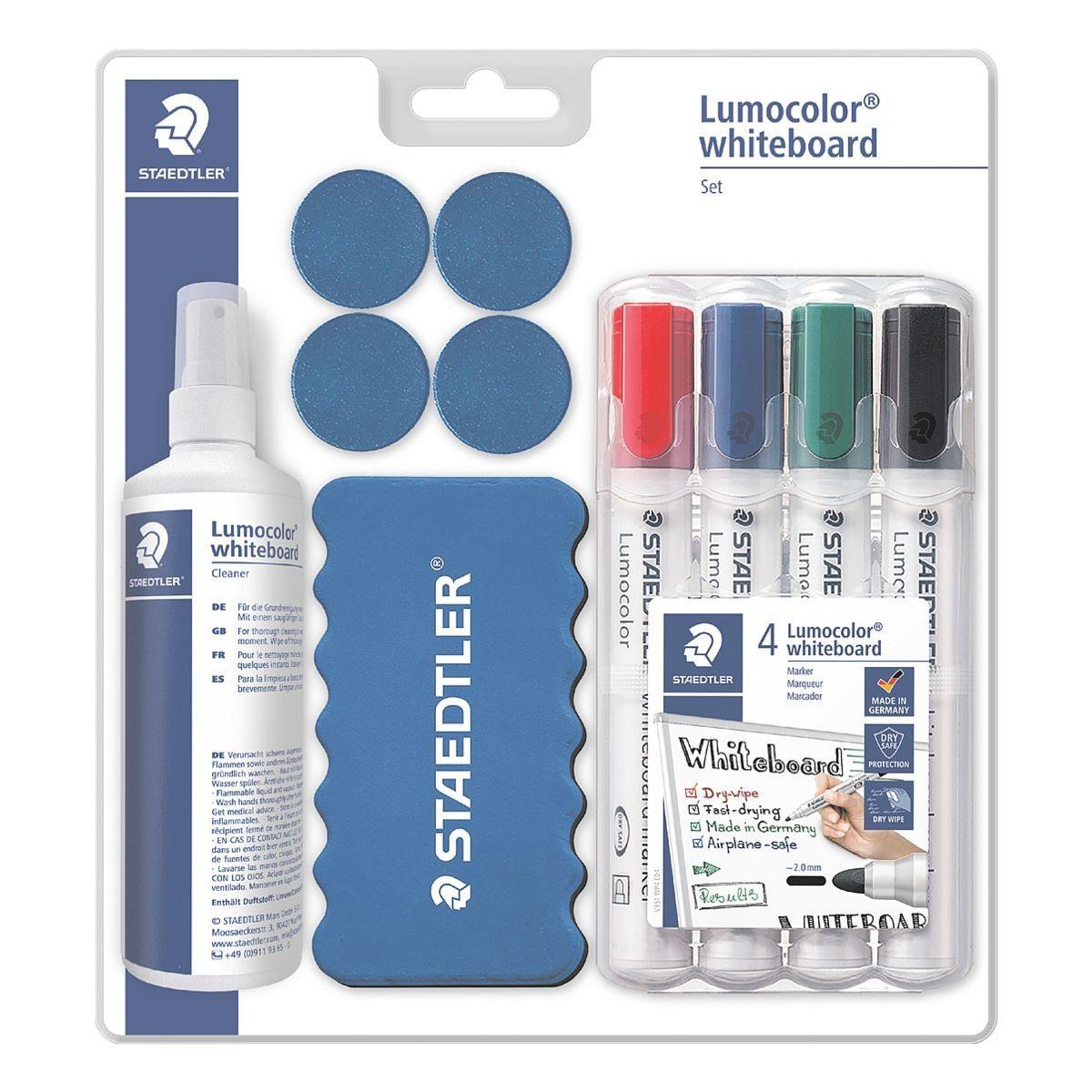 STAEDTLER Whiteboardmarker-Set »Lumocolor 613 S«