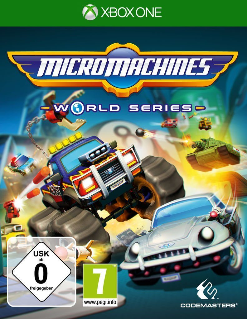 Koch Media XBOX One - Spiel »Micro Machines World Series«