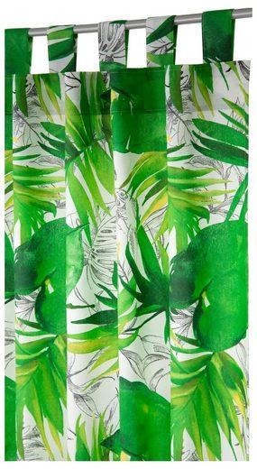 Vorhang »Jungle«, TOM TAILOR, Schlaufen (1 Stück), HxB: 255x135