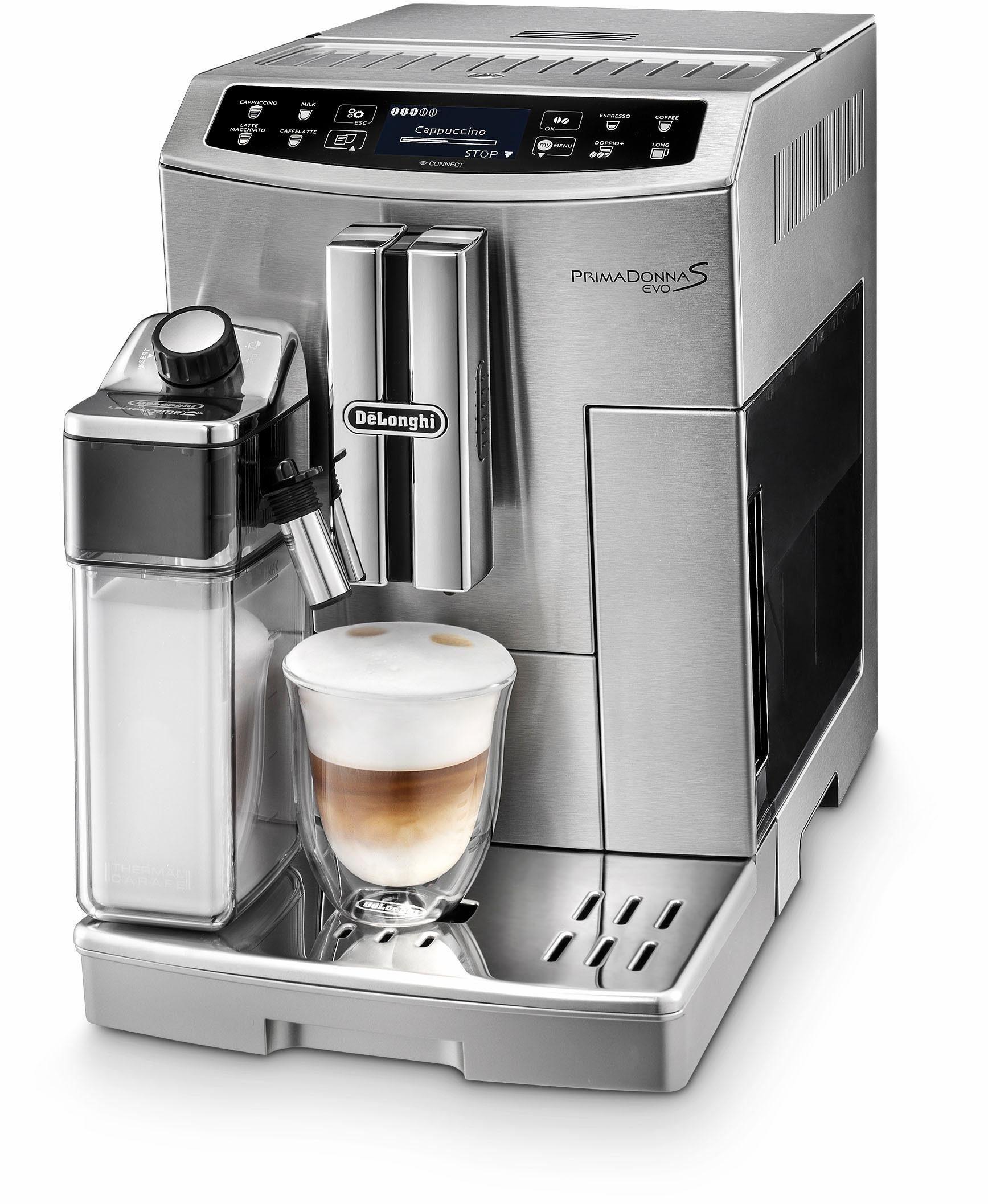 De'Longhi Kaffeevollautomat Prima Donna S EVO ECAM 510.55.M, App-Steuerung