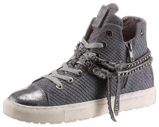 Replay Wavy Sneaker, Avec Des Bandes Métalliques À La Mode