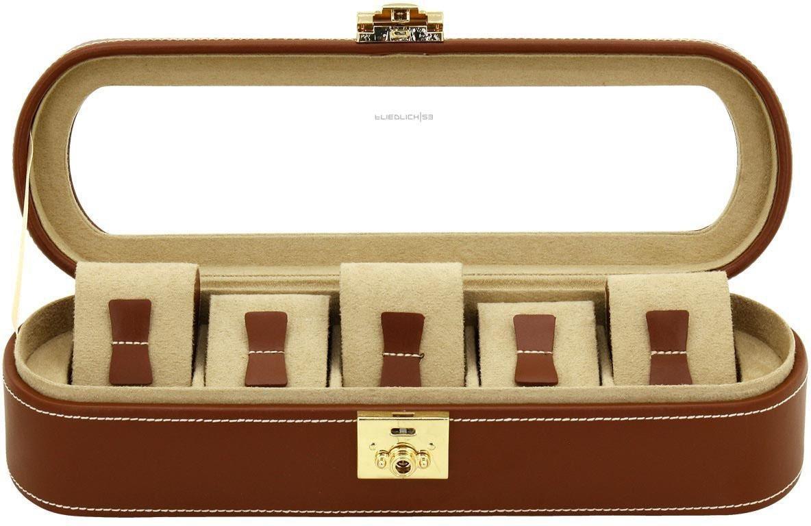 Friedrich23 Uhrenkasten »Cordoba, 26393-3« | Uhren > Uhrenboxen | Braun | Friedrich23