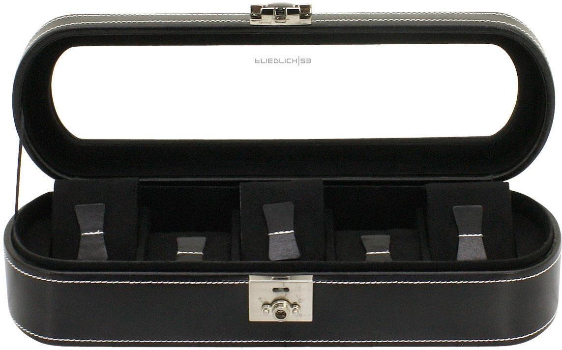 Friedrich23 Uhrenkasten »London, 26106-2« | Uhren > Uhrenboxen | Schwarz | Friedrich23