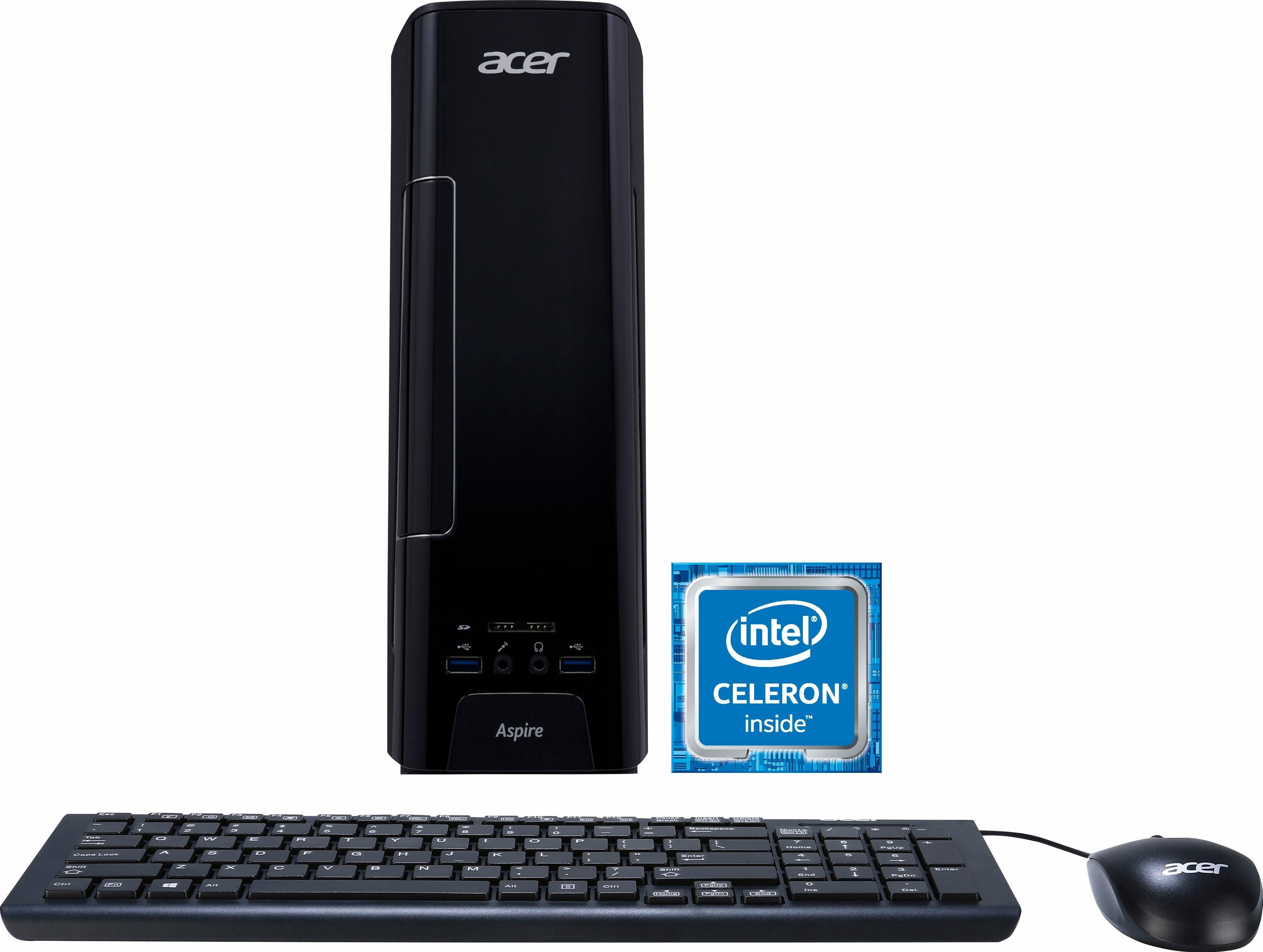 Acer Aspire XC 730, Celeron J3355 PC, Intel® Celeron™, 4096 MB DDR3-RAM, 1000 GB Speicher