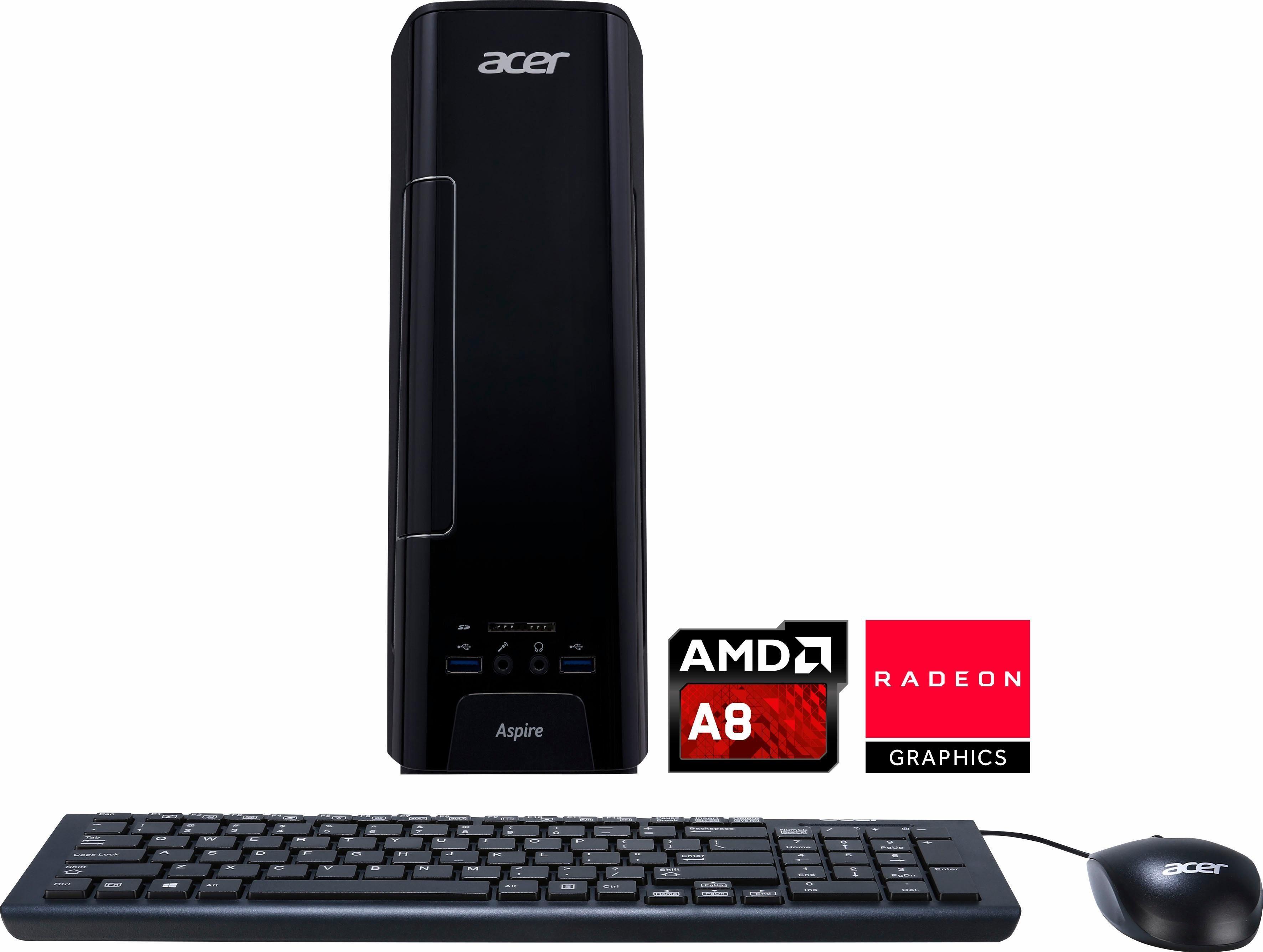 Acer Aspire XC 230, AMD A8 7410 PC, AMD A8, 4096 MB DDR3-RAM, 1000 GB Speicher, AMD Radeon