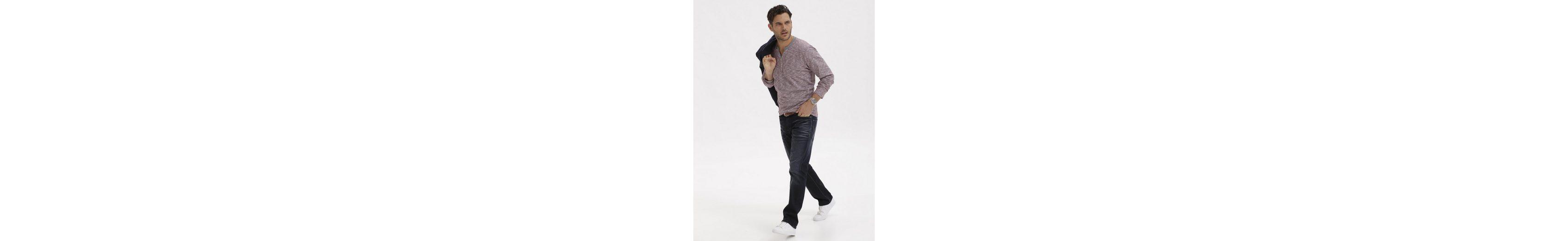 Babista Langarmshirt mit Henley-Ausschnitt Für Schönen Verkauf Online wBONd