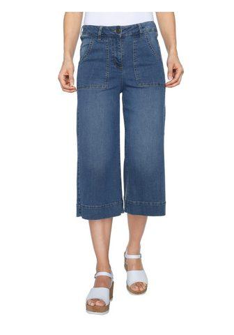 Юбка-брюки из Jeansqualität