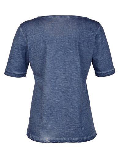 Laura Kent Shirt mit Ziersteinen