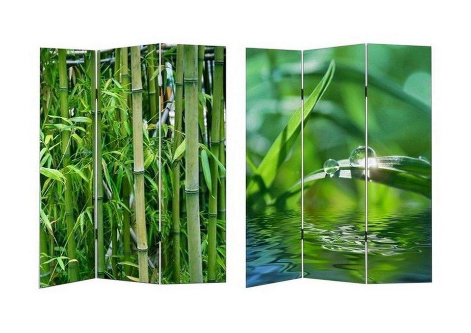 Hti line paravent bambus online kaufen otto for Paravent bambus