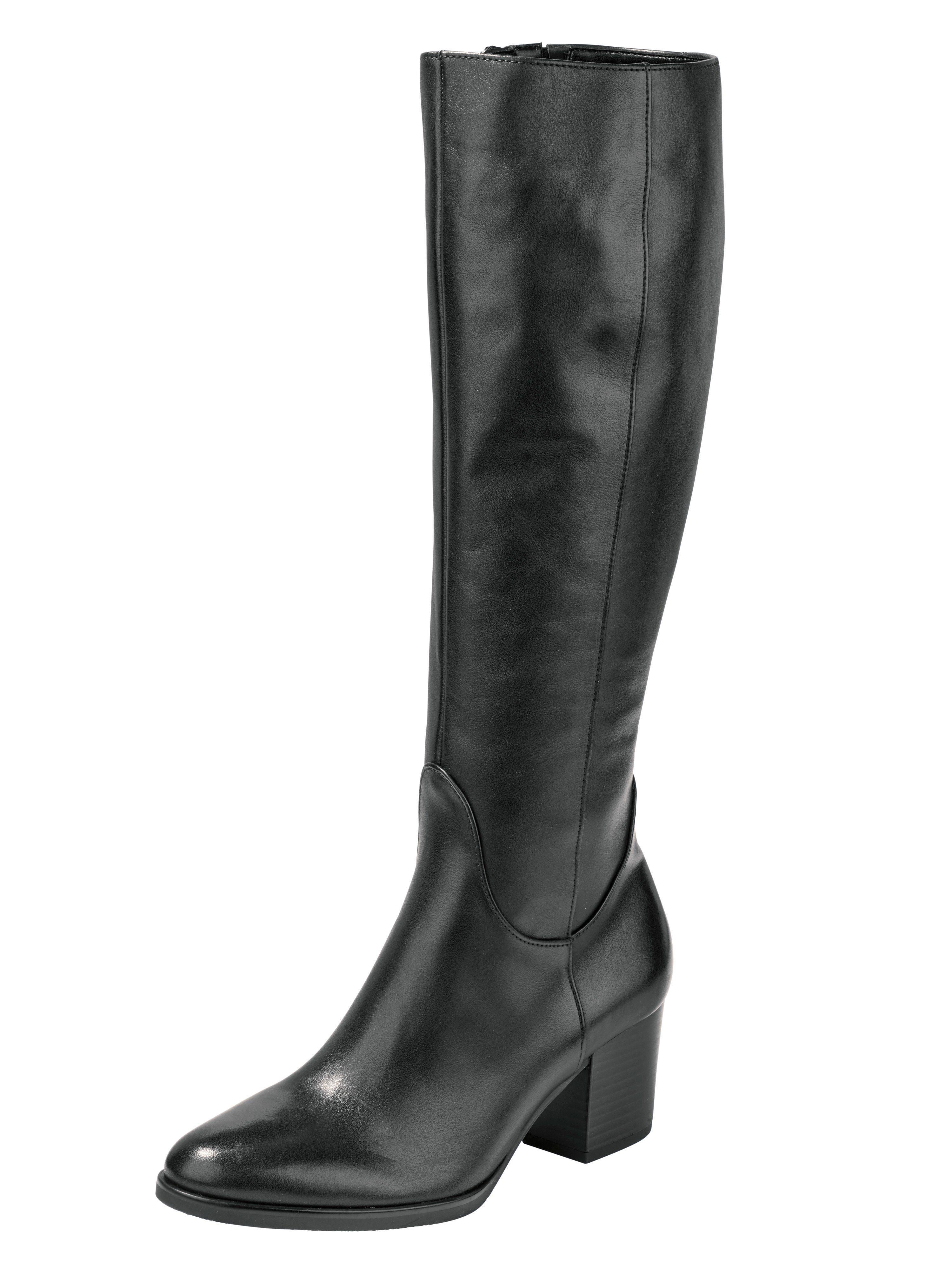 Gabor Comfort Stiefel in zwei Schaftweiten kaufen  schwarz