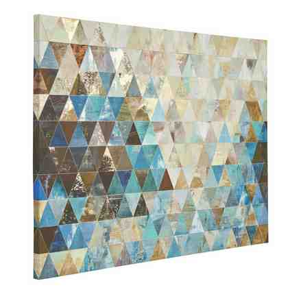 Home affaire Bild »Dreiecke«, 120/90 cm