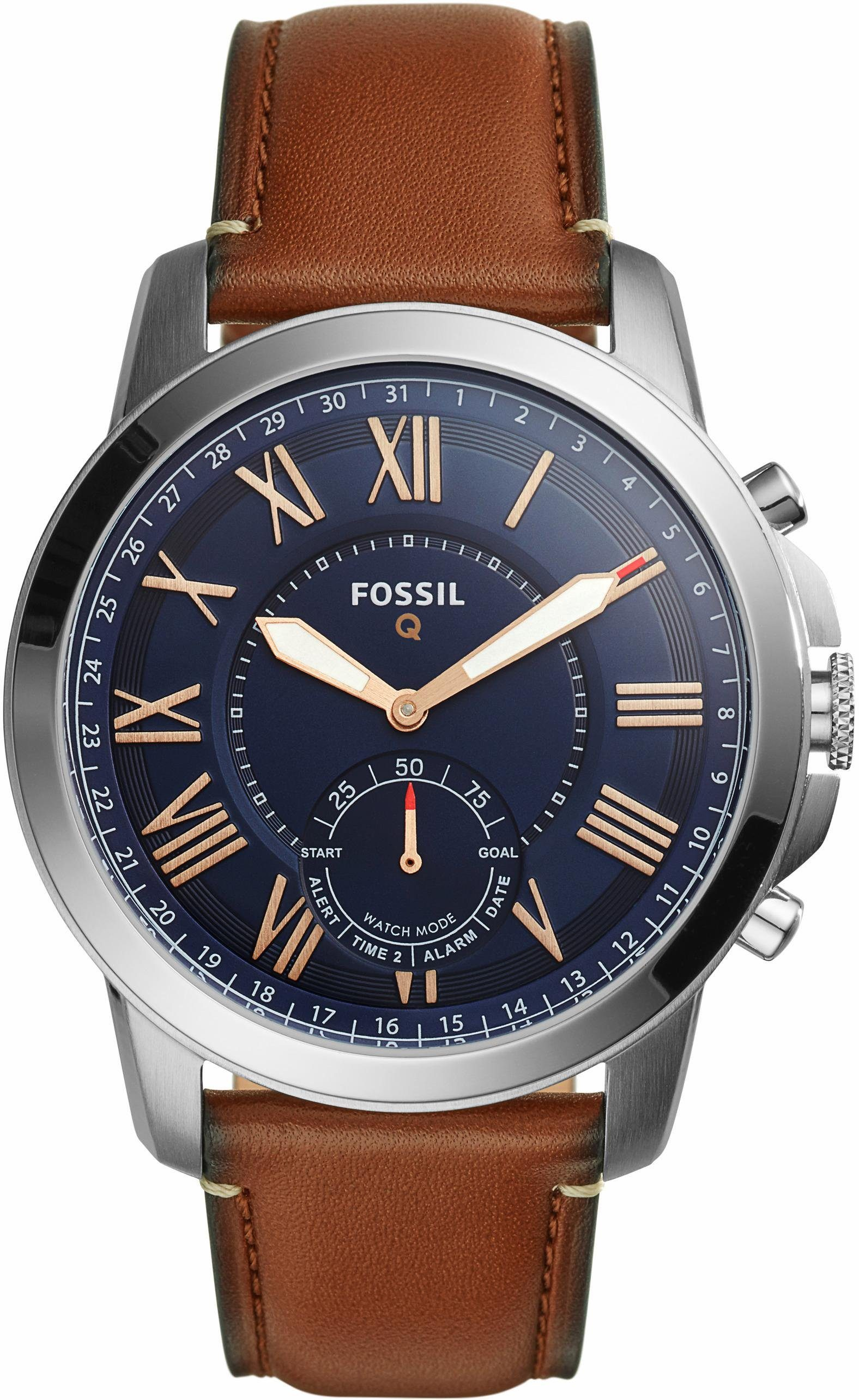 FOSSIL Q Q GRANT, FTW1122 Smartwatch (Android Wear)