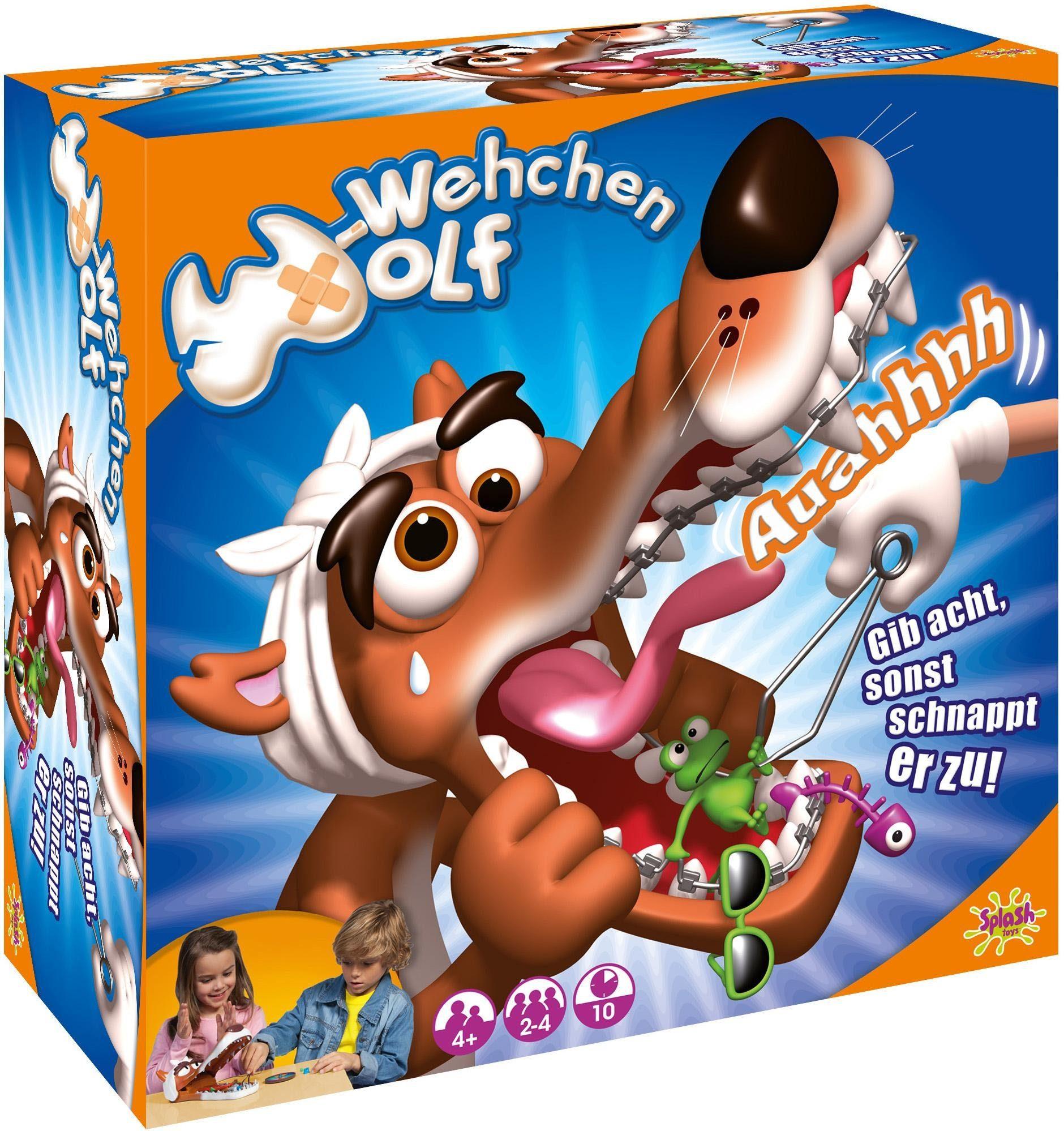 Splash Toys Kinderspiel, »Wehwehchen Wolf«
