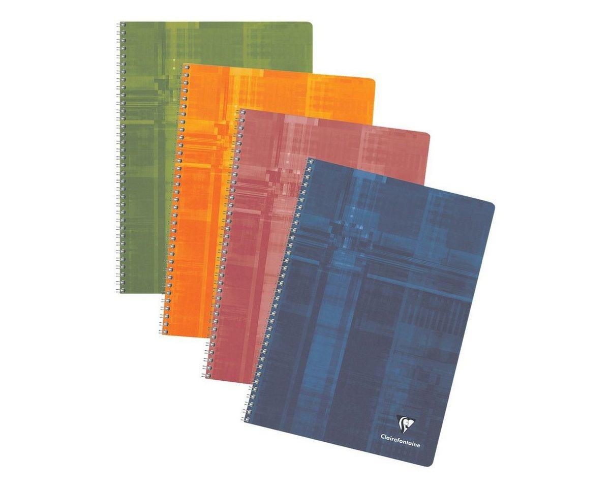 CLAIREFONTAINE Spiralblock A4 kariert, holzfreies Papier »Matris«